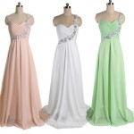 Cheap Chiffon Formal Evening Dressess Wedding Party Dress New Arrival
