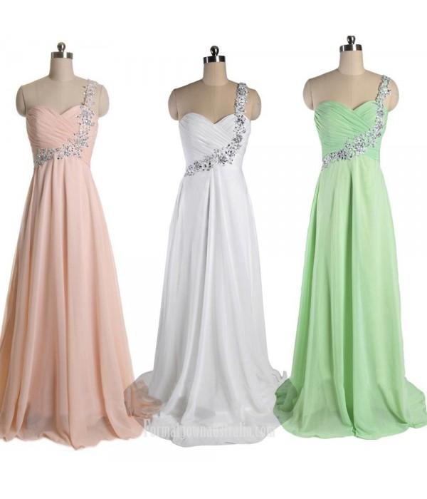 Cheap Chiffon Formal Dress Evening Dressess Wedding Party Dress New Arrival