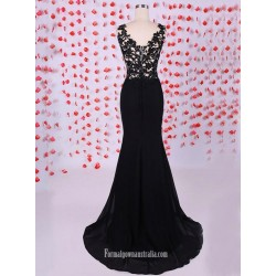 Top 10 Elegant Cheap Black Lace Formal Dresses Australia Online Shop