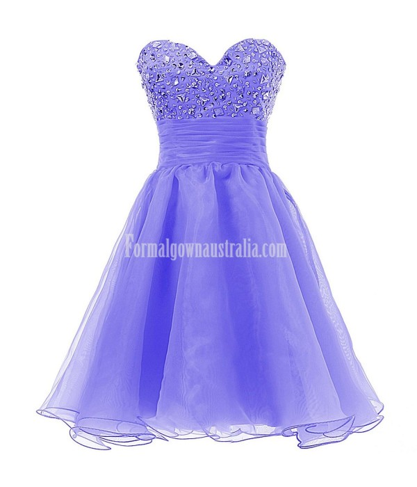 Dresstells Short Sweetheart Formal Dress Prom Cocktail Dress Party Dress With Sequins For Juniors New