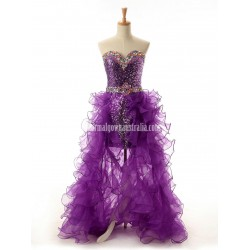 Sparkle Sweetheart Tulle Formal Dress Party Dress With Ruffle