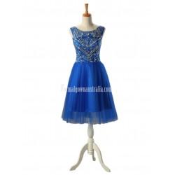 Dresstells Long Royal blue Chiffon Prom Dress Sweet 16 Formal Cocktail Dress Party Dress