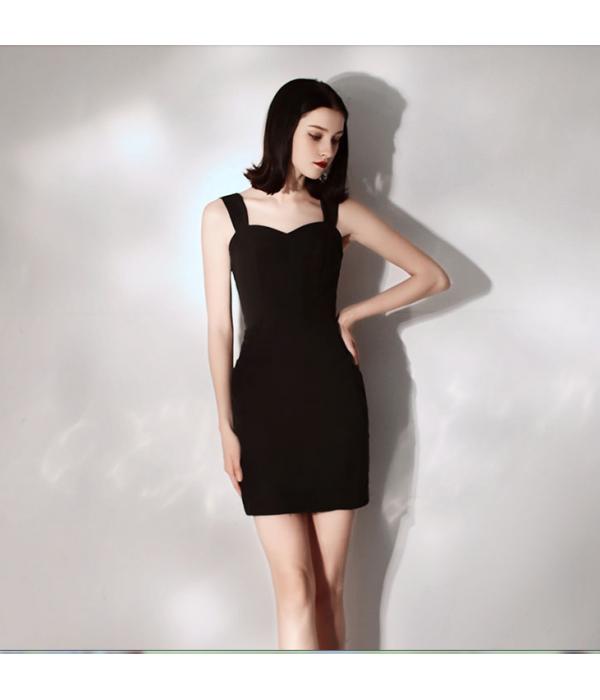 Australia Semi Formal Dress Short Zipper Back Sheath/Column Little Black Dress New