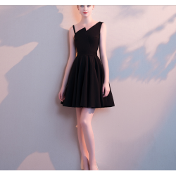 Australia Short Semi Formal Dress Fashion Neckline Little Black Dress