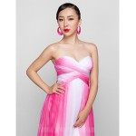 Australia Formal Dress Evening Gowns Prom Gowns Military Ball Dress Fuchsia Plus Sizes Dresses Petite A-line Sweetheart Long Floor-length Chiffon Formal Dress Australia