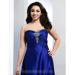 Australia Formal Dress Evening Gowns Prom Gowns Military Ball Dress Royal Blue Plus Sizes Dresses Petite A-line Princess Sweetheart Strapless Long Floor-lengthStretch Formal Dress Australia