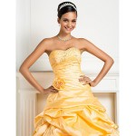 Prom Gowns Australia Formal Dress Evening Gowns Quinceanera Sweet 16 Dress Daffodil Plus Sizes Dresses Petite Princess Ball Gown A-line Sweetheart Strapless Formal Dress Australia