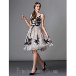 Australia Formal Dresses Cocktail Dress Party Dress Ball Gown Scoop Short Knee-length Lace Formal Dress Australia