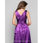 Prom Gowns Military Ball Australia Formal Dress Evening Gowns Grape Plus Sizes Dresses Petite A-line V-neck Long Floor-length Charmeuse Formal Dress Australia