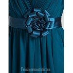 Australia Cocktail Party Dresses Wedding Party Dress Ink Blue Plus Sizes Dresses Petite A-line Princess V-neck Short Knee-length Chiffon Formal Dress Australia