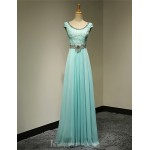Australia Formal Dress Evening Gowns Pool Plus Sizes Dresses Petite A-line Scoop Long Floor-length Chiffon Formal Dress Australia