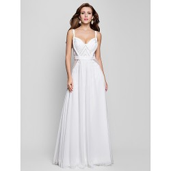 Australia Formal Evening Dress Military Ball Dress Ivory Plus Sizes Dresses Petite A-line Princess V-neck Long Floor-length Chiffon