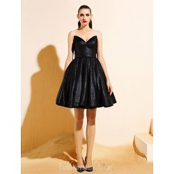 Homecoming Australia Formal Dresses Cocktail Dress Party Dress Black Ball Gown V Neck Short Knee Length Jersey