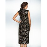 Australia Cocktail Party Dresses Holiday Dress Black Plus Sizes Dresses Petite A-line Princess High Neck Ankle-length Sequined Formal Dress Australia