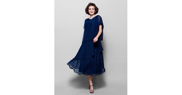 A-line Plus Sizes Dresses Petite Mother Of The Bride Dress