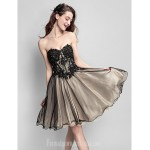 Australia Cocktail Party Dress Multi-color Plus Sizes Dresses Petite Ball Gown Sweetheart Short Knee-length Tulle Formal Dress Australia