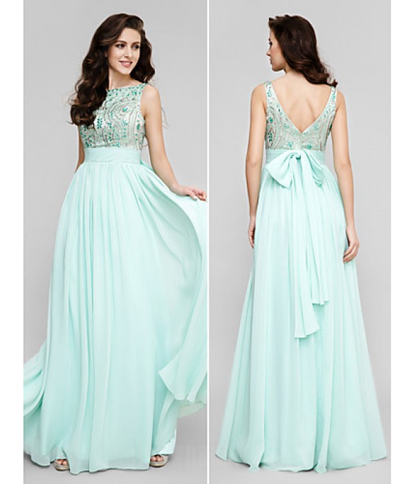 Australia Formal Dress Evening Gowns Prom Gowns Military Ball Dress Plus Sizes Dresses Petite A-line Scoop Long Floor-length Chiffon Formal Dress Australia