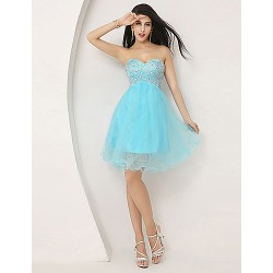 Australia Formal Dresses Cocktail Dress Party Dress Pool Plus Sizes Dresses Petite A Line Sweetheart Short Knee Length