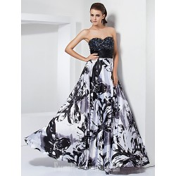 Prom Gowns Australia Formal Dress Evening Gowns Military Ball Dress Black Plus Sizes Dresses Petite A-line Princess Sweetheart Strapless Long Floor-lengthStretch