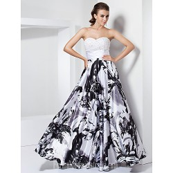Prom Gowns Australia Formal Dress Evening Gowns Military Ball Dress White Black Plus Sizes Dresses Petite A-line Princess Sweetheart Strapless Long Floor-length