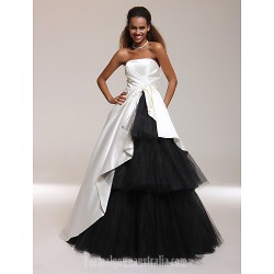 Prom Gowns Australia Formal Dress Evening Gowns Quinceanera Sweet 16 Dress Ivory Plus Sizes Dresses Petite Ball Gown A Line Princess Strapless Long Floor Length