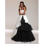 Prom Gowns Australia Formal Dress Evening Gowns Quinceanera Sweet 16 Dress Ivory Plus Sizes Dresses Petite Ball Gown A-line Princess Strapless Long Floor-length Formal Dress Australia