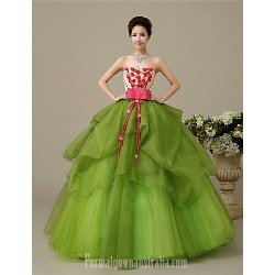 Australia Formal Dress Evening Gowns Clover Plus Sizes Dresses Petite Ball Gown Sweetheart Long Floor-length Organza
