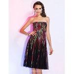 Australia Cocktail Party Dresses Holiday Dress Print Plus Sizes Dresses Petite A-line Princess Strapless Short Knee-length Tulle Formal Dress Australia