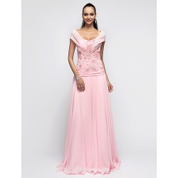 Australia Formal Dress Evening Gowns Prom Gowns Military Ball Dress Candy Pink Plus Sizes Dresses Petite A-line Princess Halter Long Floor-length Chiffon