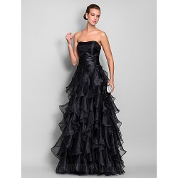 Australia Formal Evening Dress Prom Gowns Military Ball Dress Black Plus Sizes Dresses Petite A-line Sweetheart Long Floor-length Organza