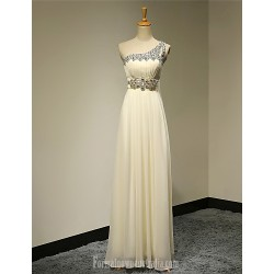 Australia Formal Dress Evening Gowns Daffodil Plus Sizes Dresses Petite A-line Sexy One Shoulder Long Floor-length Chiffon