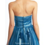 Australia Formal Dress Evening Gowns Ink Blue A-line Sweetheart Ankle-length Tulle Formal Dress Australia