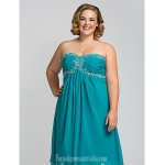 Australia Cocktail Party Dresses Holiday Dress Jade Plus Sizes Dresses Petite A-line Sweetheart Strapless Short Knee-length Chiffon Formal Dress Australia