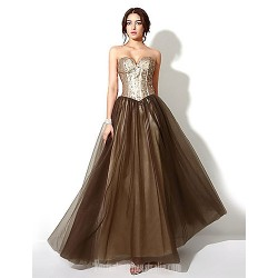 Australia Formal Dress Evening Gowns Brown Plus Sizes Dresses Petite A Line Sweetheart Long Floor Length