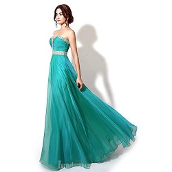 Australia Formal Dress Evening Gowns Dark Navy Jade Watermelon Plus Sizes Dresses Petite A-line Sweetheart Long Floor-length Chiffon