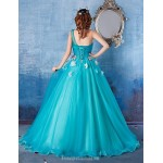 Australia Formal Dress Evening Gowns Sky Blue Ball Gown Sexy One Shoulder Long Floor-length Satin Formal Dress Australia