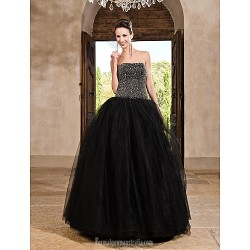 Prom Gowns Australia Formal Dress Evening Gowns Quinceanera Sweet 16 Dress Black Plus Sizes Dresses Petite Princess A Line Ball Gown Strapless Long Floor Length