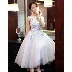 Australia Formal Dresses Cocktail Dress Party Dress Australia Formal Dress Evening Gowns Silver  Jewel Tulle
