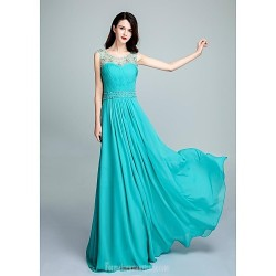 Australia Formal Dress Evening Gowns Pool Ball Gown Scoop Long Floor Length Chiffon