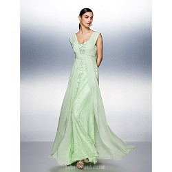 Dress Sage Plus Sizes Dresses Petite A-line Straps Long Floor-length Chiffon Tulle