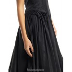 Australia Formal Dresses Cocktail Dress Party Dress Black A-line Strapless Tea-length Lace Taffeta Formal Dress Australia