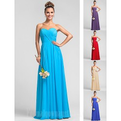 Wedding Party Dresses Australia Formal Dress Evening Gowns Military Ball Dress Pool Plus Sizes Dresses Petite A-line Sweetheart Long Floor-length Chiffon