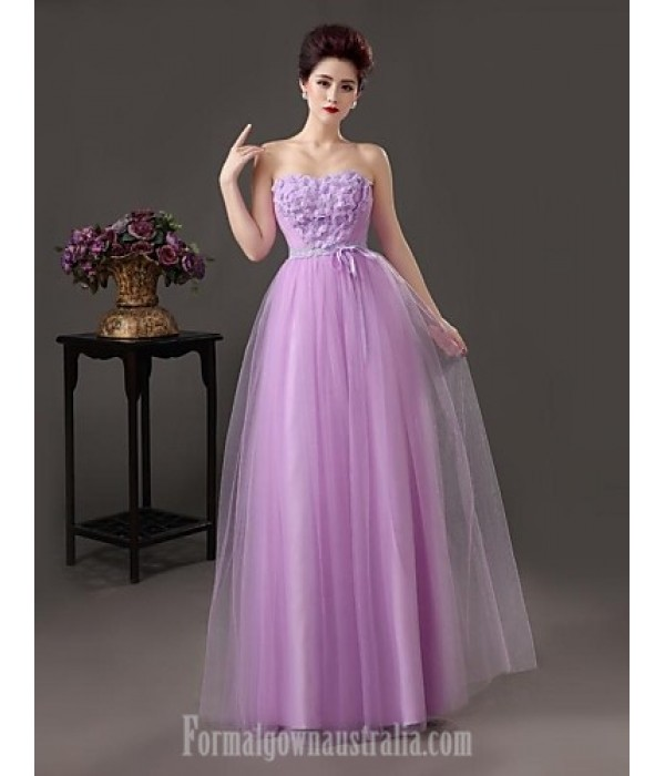 Australia Formal Dress Evening Gowns As Picture A-line Sweetheart Long Floor-length Satin Formal Dress Australia