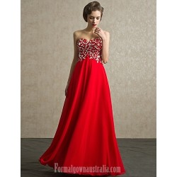 Australia Formal Dress Evening Gowns Ruby Petite Ball Gown Sweetheart Long Floor Length