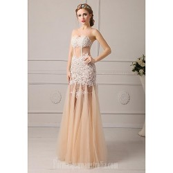 Australia Formal Evening Dress Ivory Champagne Sky Blue Candy Pink Plus Sizes Dresses Petite A-line Sweetheart Long Floor-length Tulle Dress