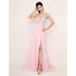 Australia Formal Dress Evening Gowns Candy Pink Plus Sizes Dresses Petite A Line V Neck Long Floor Length