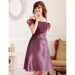 Australia Cocktail Party Dress Grape Champagne Black Plus Sizes Dresses Princess Spaghetti Straps Short Knee-length Satin