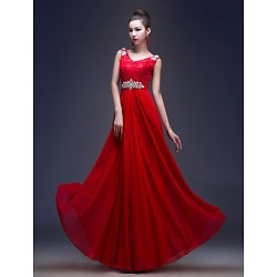 Australia Formal Dress Evening Gowns Ruby Plus Sizes Dresses A-line Princess V-neck Long Floor-length Lace Dress Georgette