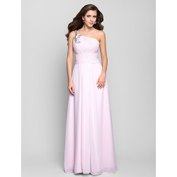 Prom Gowns Military Ball Australia Formal Dress Evening Gowns Blushing Pink Plus Sizes Dresses Petite A Line Sexy One Shoulder Long Floor Length Chiffon