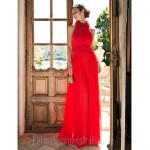 Prom Gowns Australia Formal Dress Evening Gowns Ruby Plus Sizes Dresses Petite High Neck Long Floor-length Chiffon Formal Dress Australia